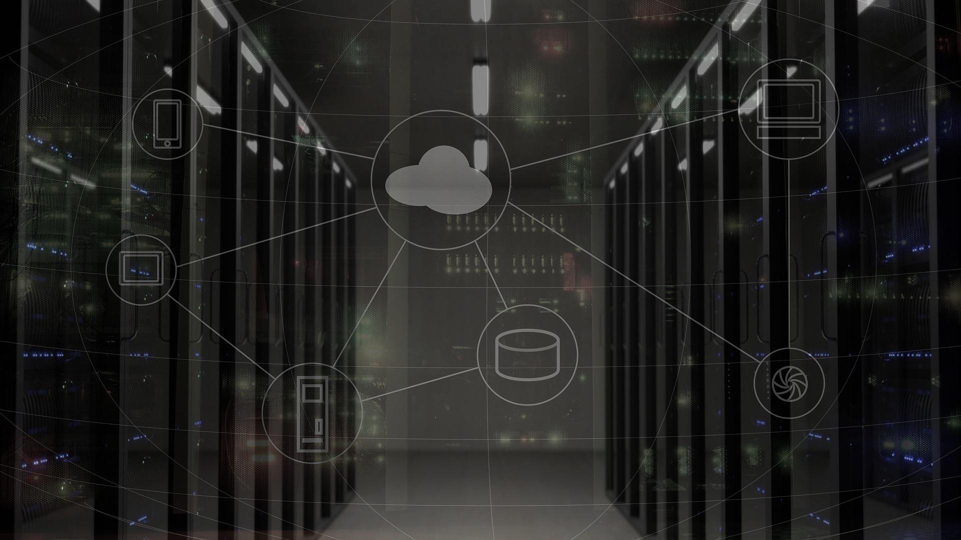 Telecoms Data Solutions Server Room